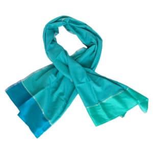 zijden sjaal uit india handgeweven india scilla eerlijke mode