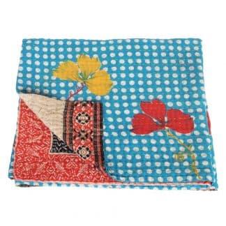 kantha sari deken bindu fair trade bangladesh