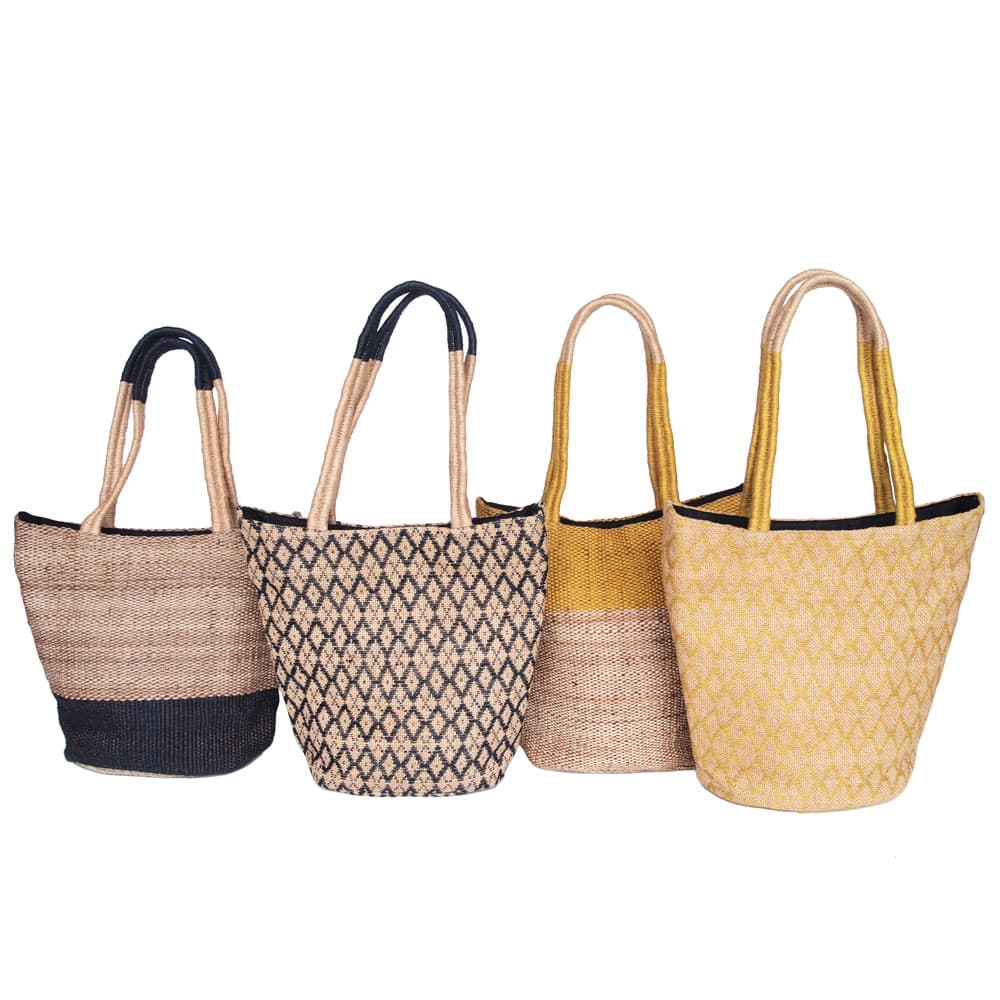 tassen jute fair trade stijlvol