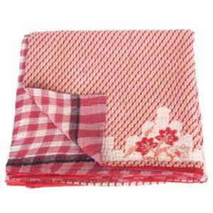 kantha sari deken phula fairtrade sprei