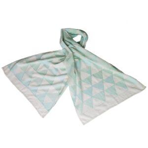 kantha sjaal khadi handgeweven katoen smaragd eerlijke mode