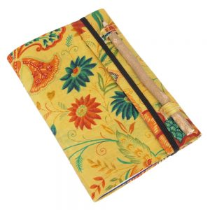 notitieboekje sari zijde jute papier gerecycled