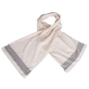 wilde tussar zijde khadi sjaal handgeweven sada eerlijke mode