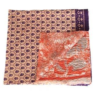 kantha zijden sari deken tali eerlijk