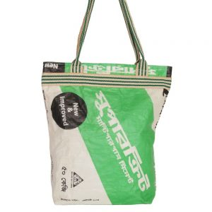bag made from recycled material recycled cement sacks
