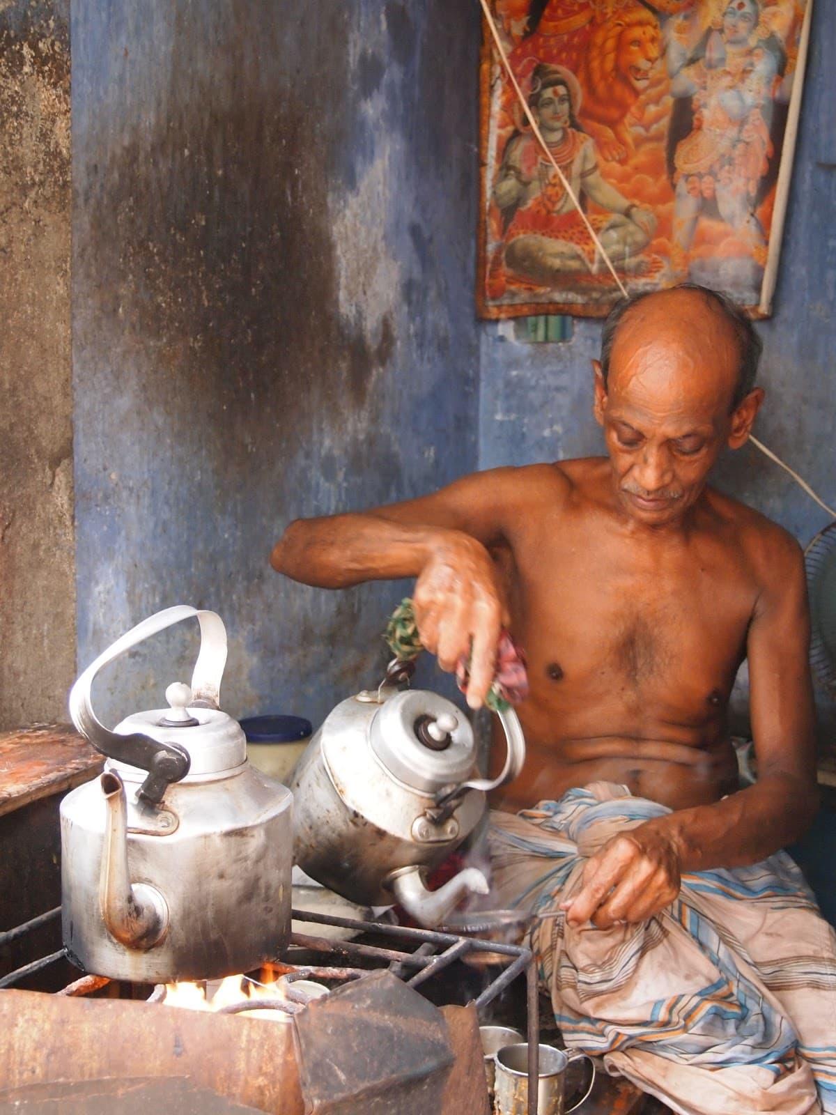 tea stall from shakari bazar