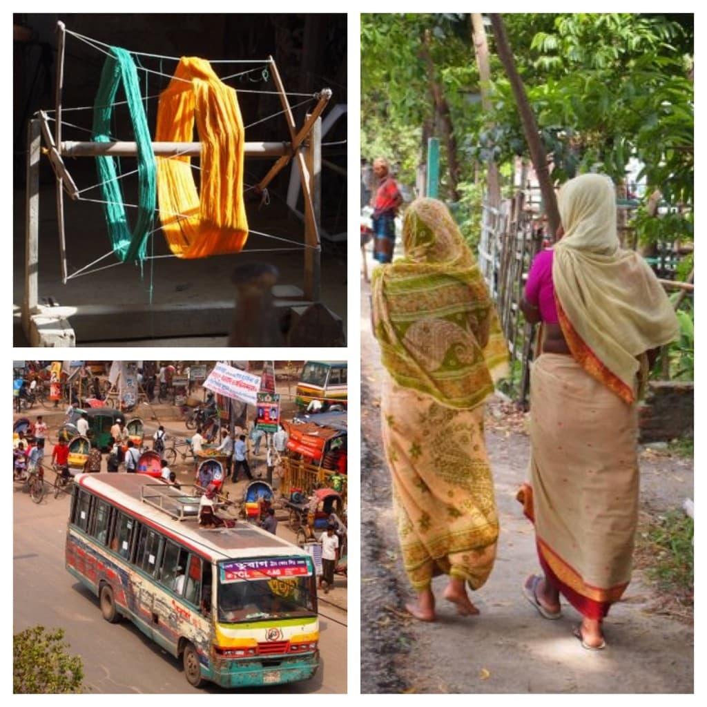 tulsi op reis in Bangladesh