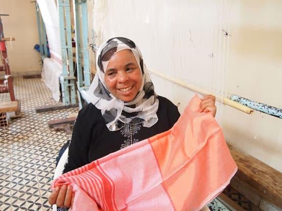 cooperative women silk vegan marokko artisan