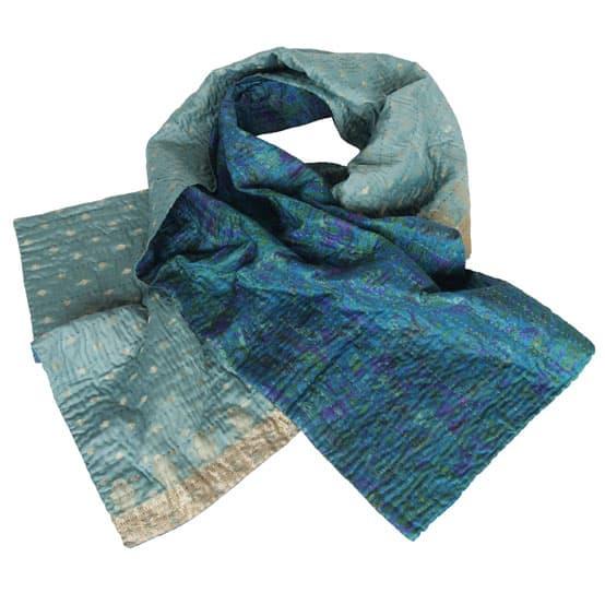 sjaal zijde sari kantha alice overview