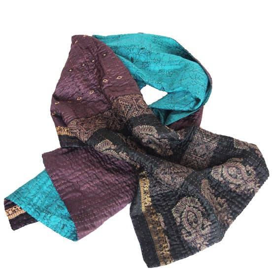 sjaal zijde sari kantha mad hatter overview