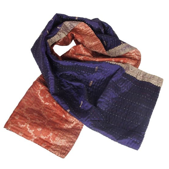 sjaal zijde sari kantha march hare overview