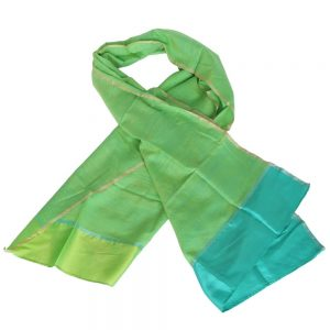 silk scarf handwoven india aconite ethical fashion