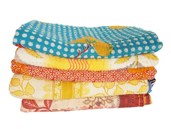 kantha sari blankets new collection SS15