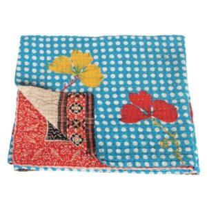 kantha sari blanket bindu fair trade bangladesh