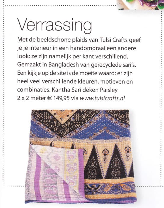 kantha sari throws surprise tulsi crafts happinez magazine