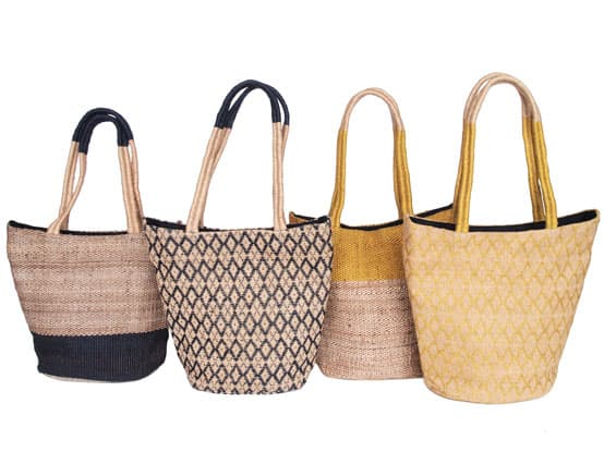 fairtrade jute handbags ethical natural