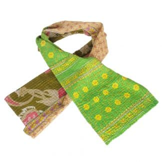 scarf cotton sari kantha paraka fair fashion