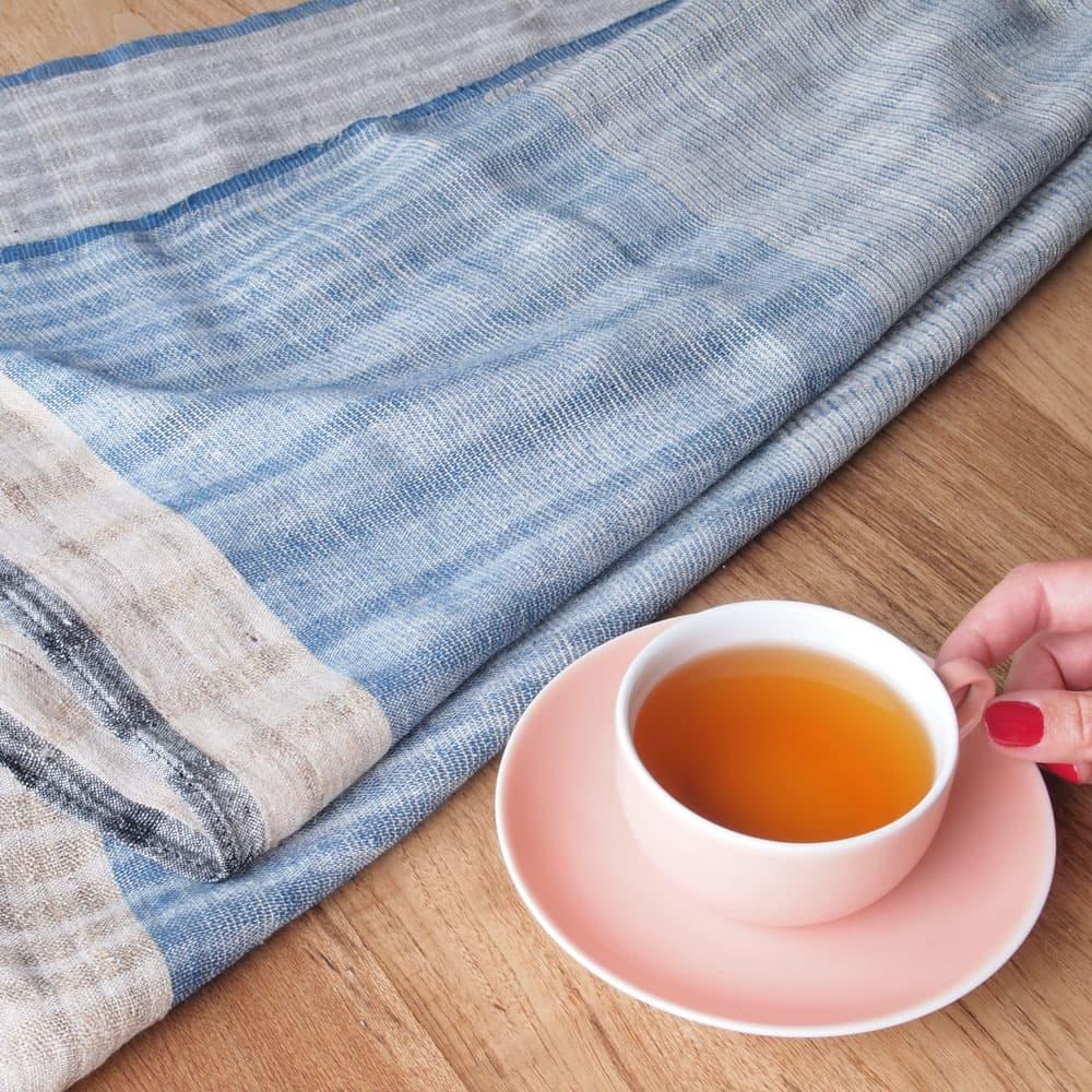 khadi scarf wild silk dhuma