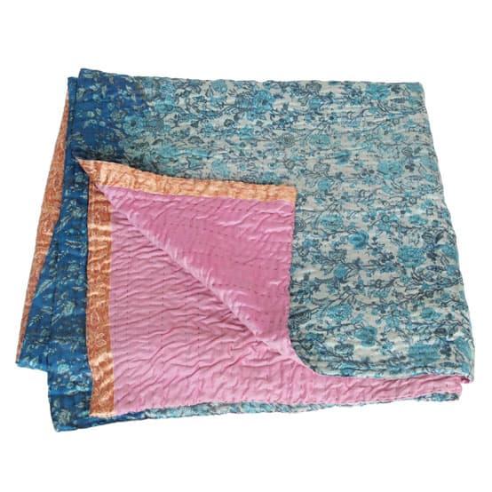 deken zijde sari kantha gula fair trade
