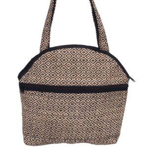 jute bag black diamond ethical handwoven