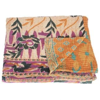 kantha sari blanket bana fair trade bangladesh