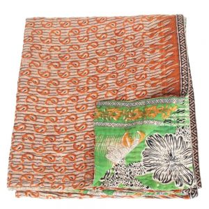 kantha sari blanket ksetra fair trade bangladesh