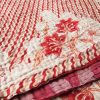 kantha sari blanket phula ethical trade