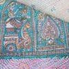 kantha silk sari blanket puspa handmade