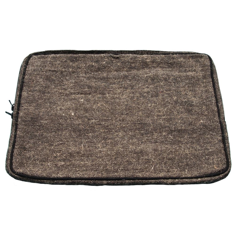 laptop sleeve van jute fair trade bangladesh