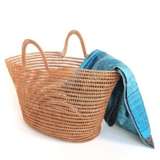 palm leaf basket ethical