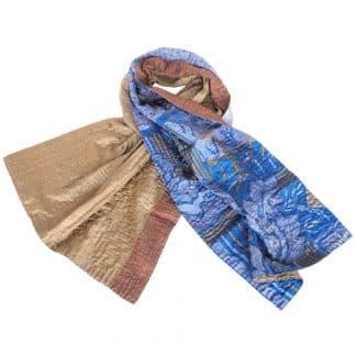 sjaal zijde sari kantha kasa fair trade