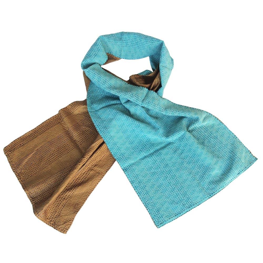 sjaal zijde sari kantha sakha fair trade india