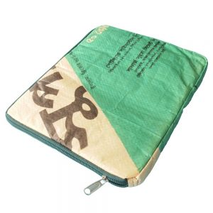 tablet ipad sleeve gerecyclede cementzak fairtrade