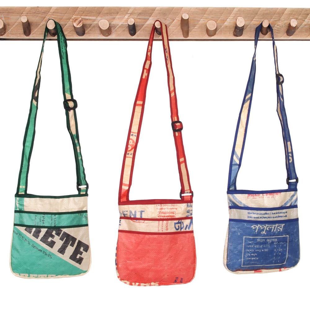 bags recycled cement sacks upcycled