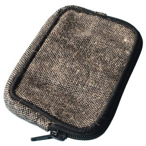 phone cover sleeve jute fair trade