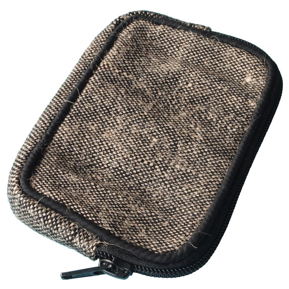 phone cover sleeve jute fair trade