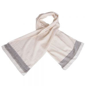 wild tussar silk khadi scarf handwoven sada fair fashion