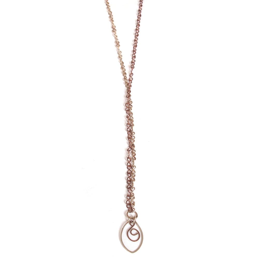 silver copper necklace pendant fair trade bangladesh
