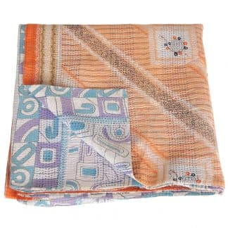 blanket cotton sari kantha sukha ethical