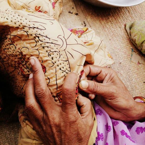 kantha artisans makers at work