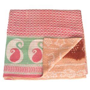 kantha cotton sari blanket daya quilt