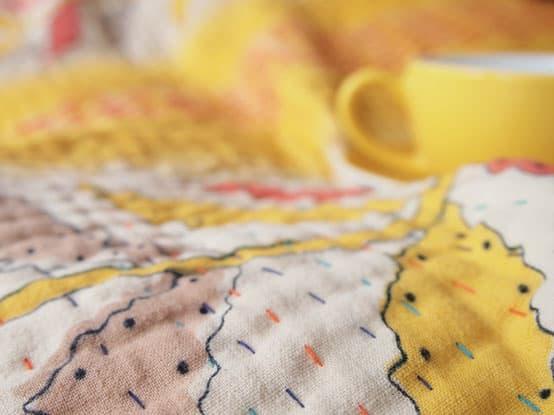 kantha sari deken sprei