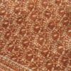 kantha zijde katoen sari deken badami handgemaakt