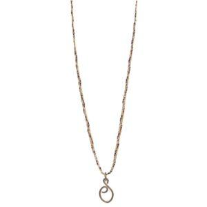 ethical necklace brass pendant fair trade bangladesh