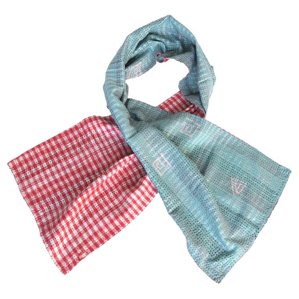 sjaal zijde sari kantha kapara fair trade india