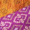 kantha zijden sari deken mlana handgemaakt