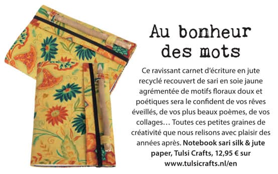 notebook carnet d'ecriture happinez magazine