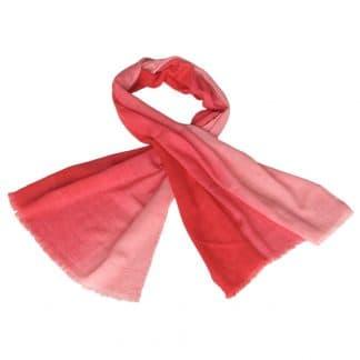 merino woollen scarf pink ethical fashion