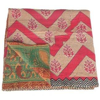 indiase sprei kantha sari deken katoen banama