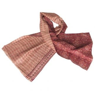 sustainable scarf silk kantha ceri ethical fashion